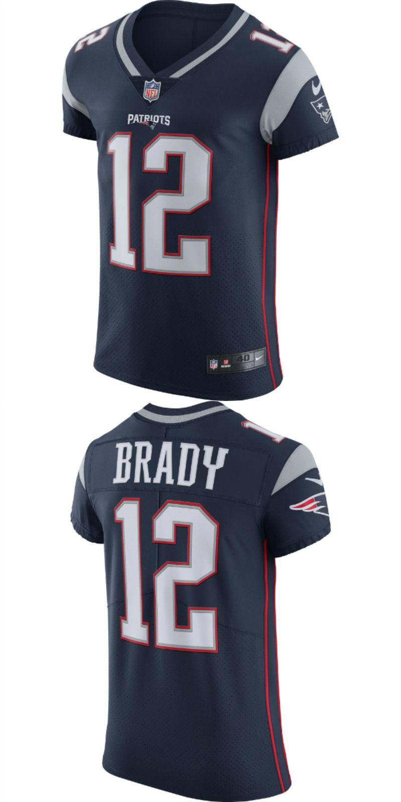 buy popular f98d8 d3e66 UP TO 70% OFF. Tom Brady New England Patriots Nike Vapor ...