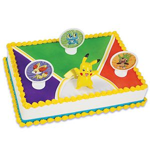 POKEMON Parties Pinterest Pokmon Cake decorating supplies