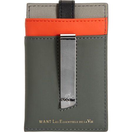 e92572c617095 WANT Les Essentiels de la Vie Kennedy Money Clip Card Holder at Barneys.com