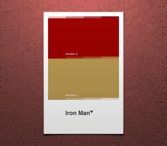 iron man color palette - Google Search | Color Combos in