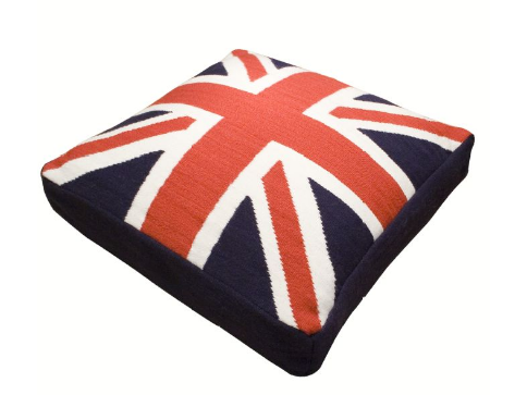 Austin Powers Needs This British Flag Dog Bed Dog Bed