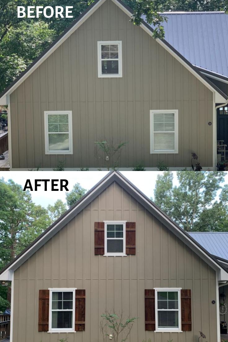 How To Make Cedar Shutters Cedar Shutters Wood Siding Exterior House Shutters