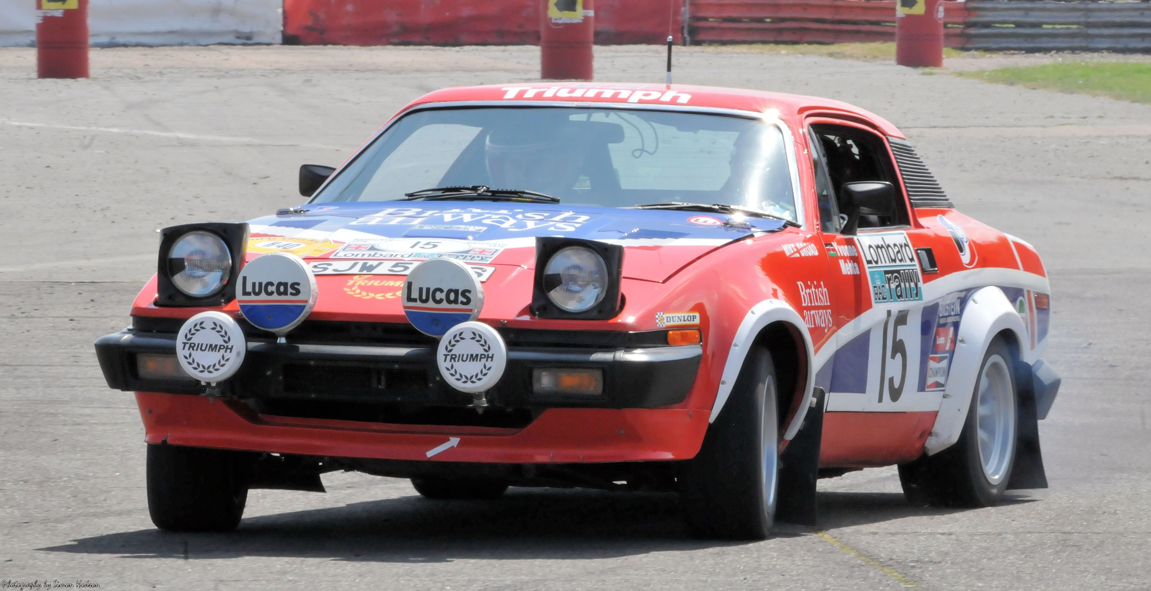 Triumph Tr7 V8 Rally | Car\'s I love | Pinterest | Rally, Cars and ...