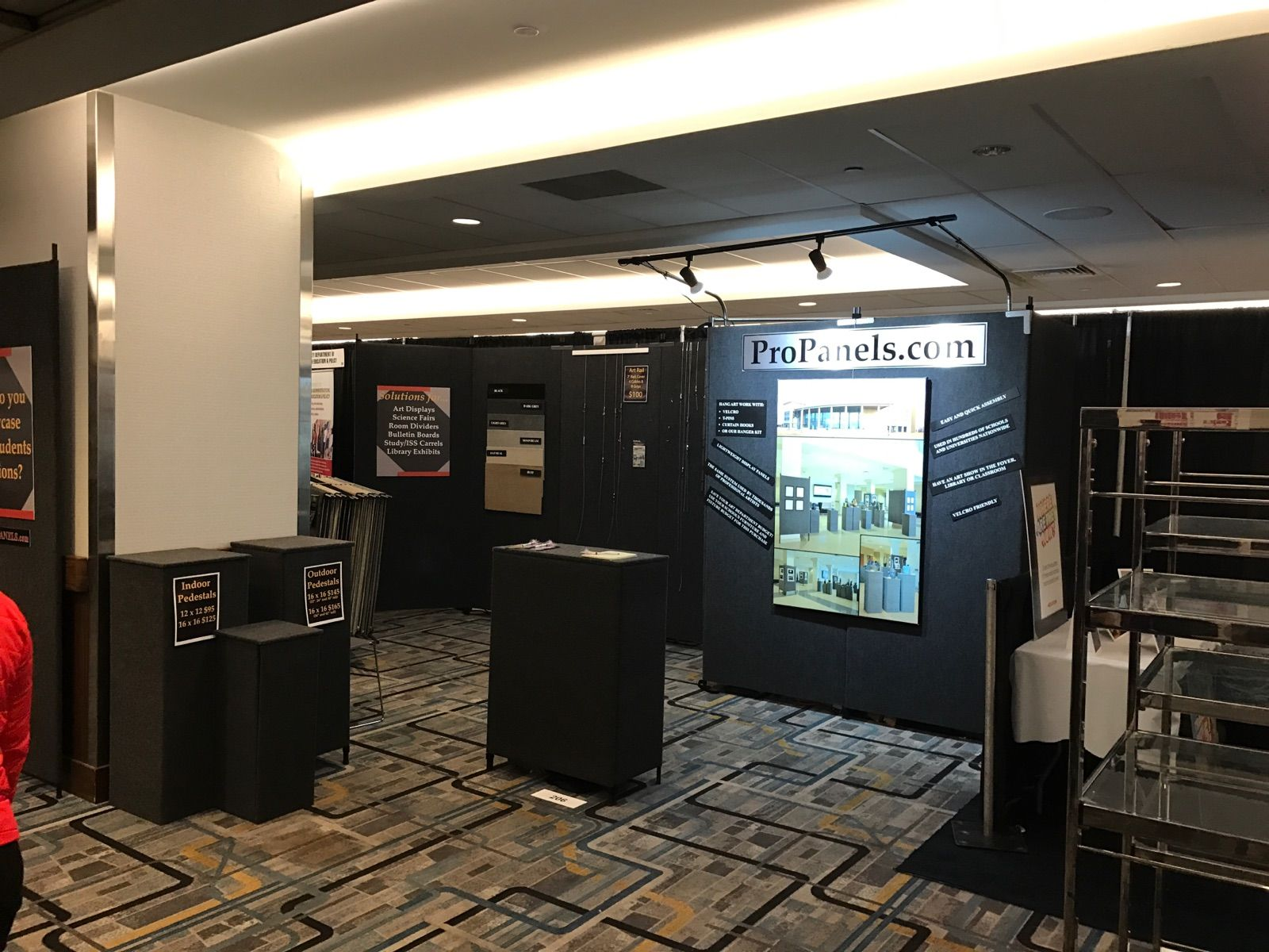 Pro Panels products on display at the 2017 NAEA Conference in NYC
