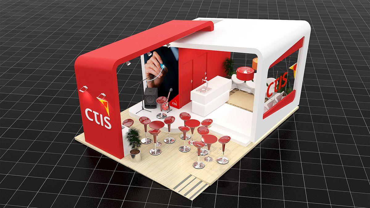 CTIS on Behance - Exhibition Design