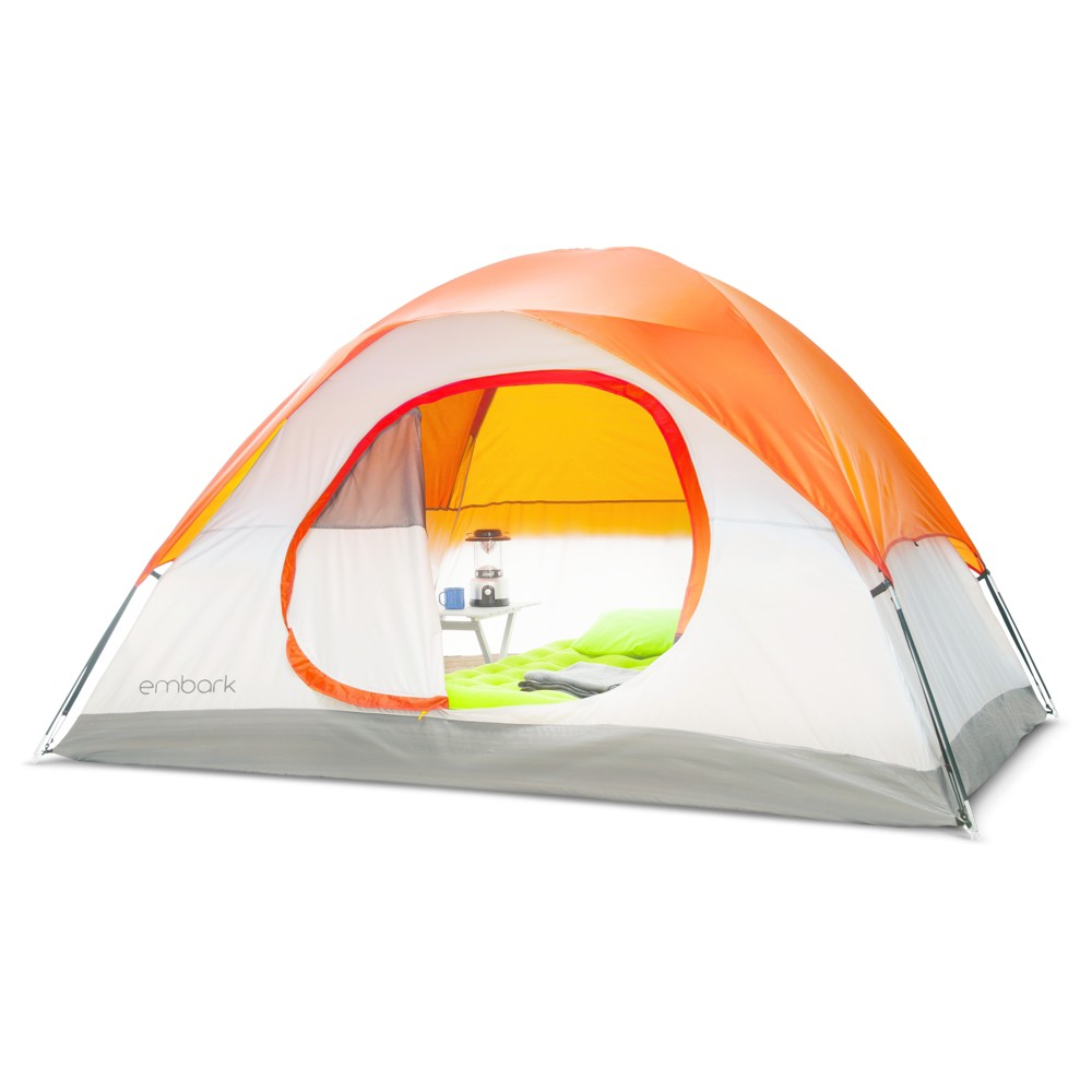 6 Person Dome Tent Orange Embark Target Tent Dome Tent Family Tent Camping