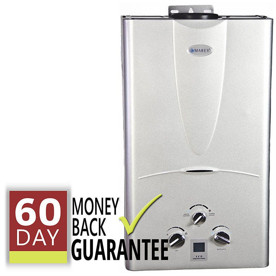 This 16l Marey Gas Tankless Hot Water Heater Will Deliver Up To 4 3 Gallons Per Minute And Will Acc Tankless Hot Water Heater Water Heater Instant Water Heater
