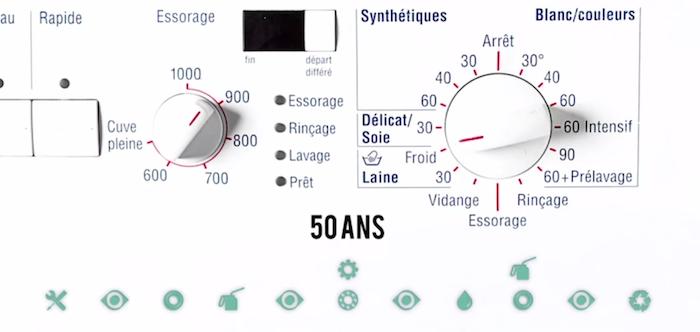 Ce Lave Linge Français Est Conçu Pour Durer 50 Ans Tant Pis Pour L Obsolescence Programmée Bureautique Lave Linge Machine à Laver
