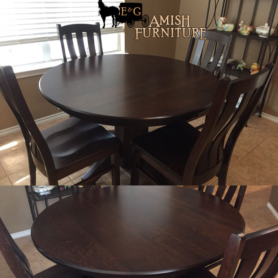 Just Delivered To Another Happy Customer Beautiful Round Solid - 48 round solid wood dining table