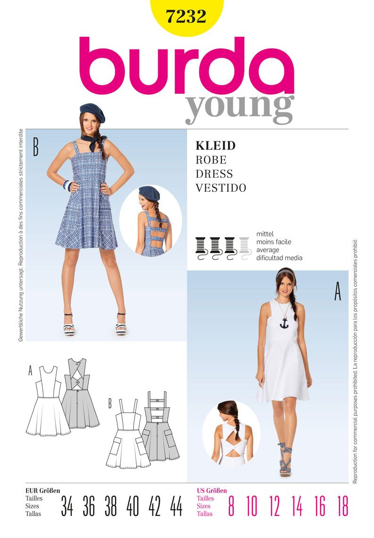 Simplicity Creative Group - Burda Style Dress | moda | Pinterest ...