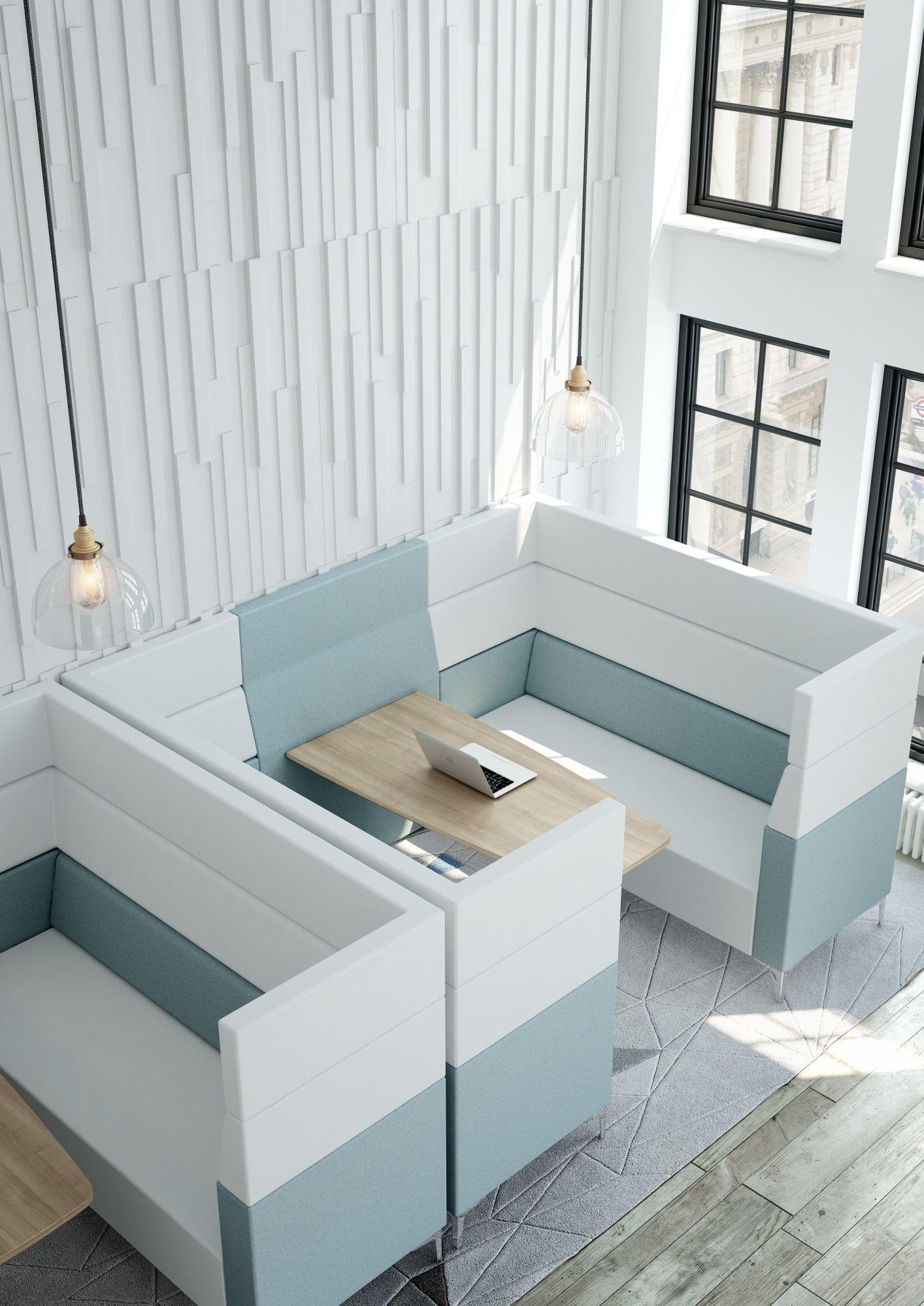 Evo plus high back modular soft seating elite office