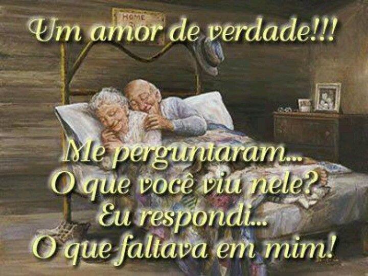 Amor de verdade!