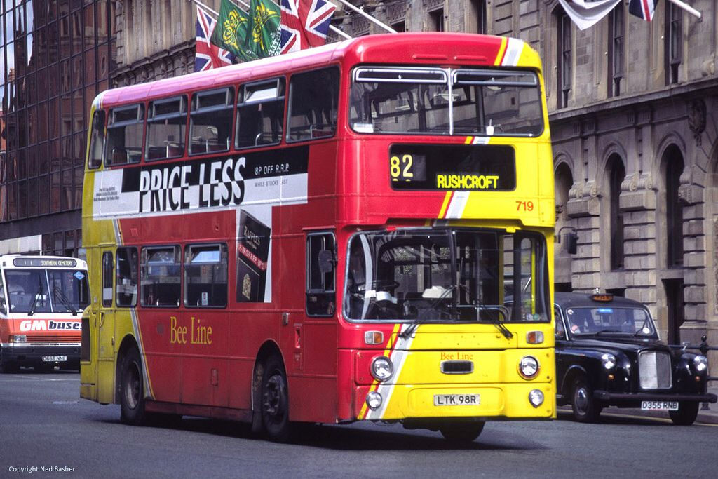 Bee Line Bus Company (ex-Plymouth City Transport) Leyland