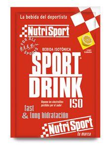 Sport Drink de Nutrisport es un suplemento deportivo, una bebida isotonica que nos ayudara a reponer los minerales perdidos durante las actividades deportivas.