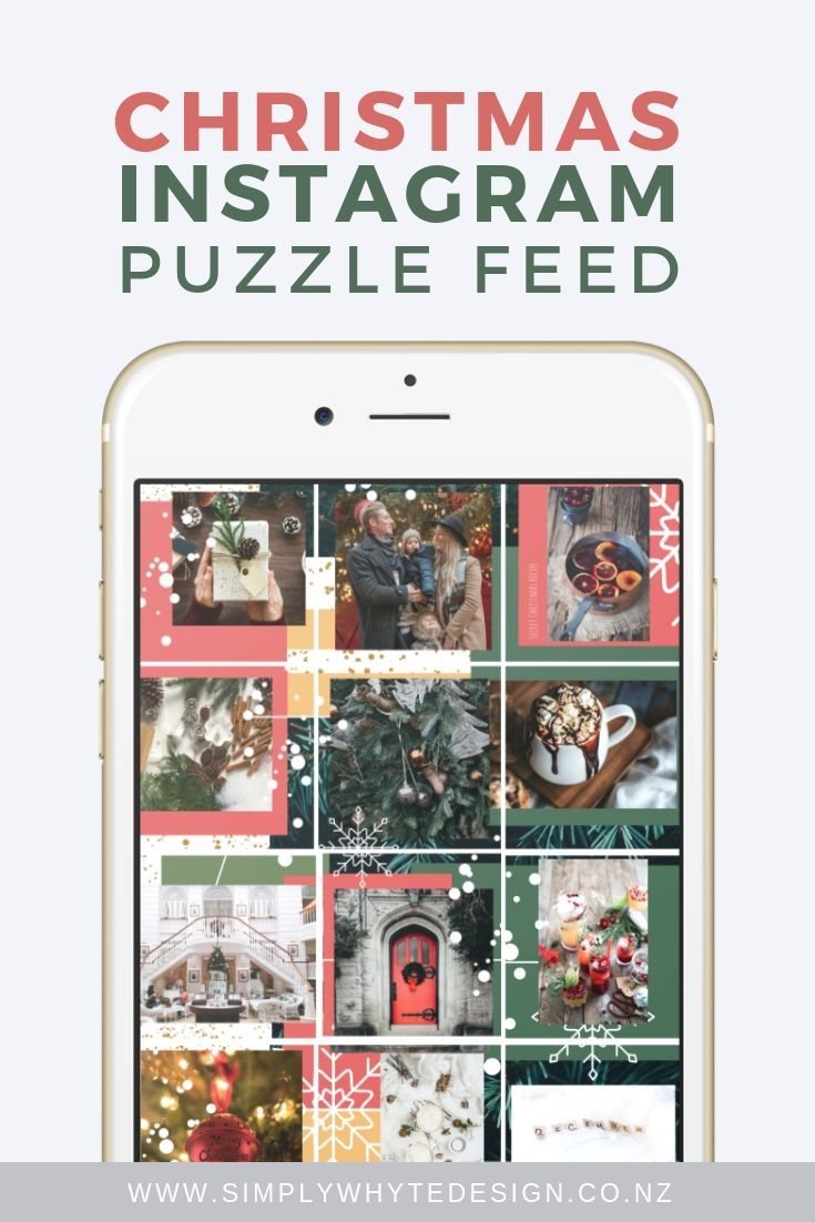 Learn how to create an Instagram Puzzle feed, without