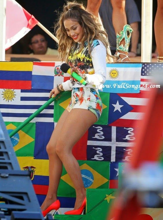 We Are One Pitbull Fifa World Cup 2014 Audio Song Mp3 Full Song Jennifer Lopez Download Jennifer Lopez Beautiful Women Pictures Celebrity Style
