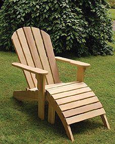 McCall's Adirondack chair