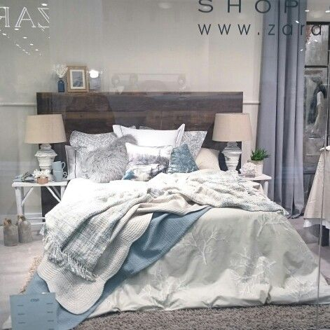 Zara home bedroom sea style chambres pinterest for Chambre zara home