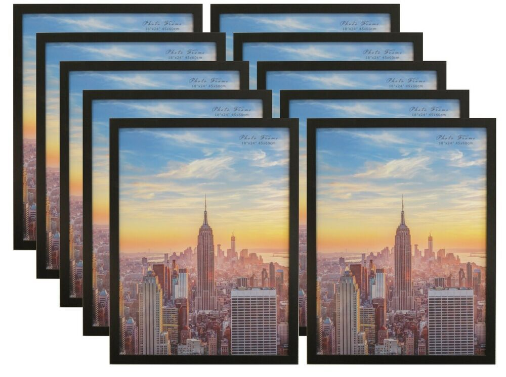 Frame Amo 18x24 Black Wood Picture Or Poster Frame 1 Inch Wide 1 3 Or 10 Pack Fashion Home Garden Homedco Picture On Wood Photo On Wood Wood Picture Frames
