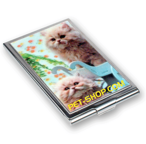 Lenticular business card case with custom cat pet shop depth lenticular business card case with custom cat pet shop depth business card case card case and 3d business card colourmoves Gallery