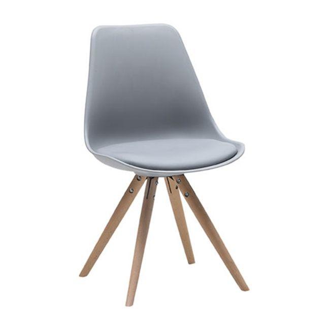 36.000,- Moon szék szürke/tölgy láb – Étkezőszékek - ID Design ...