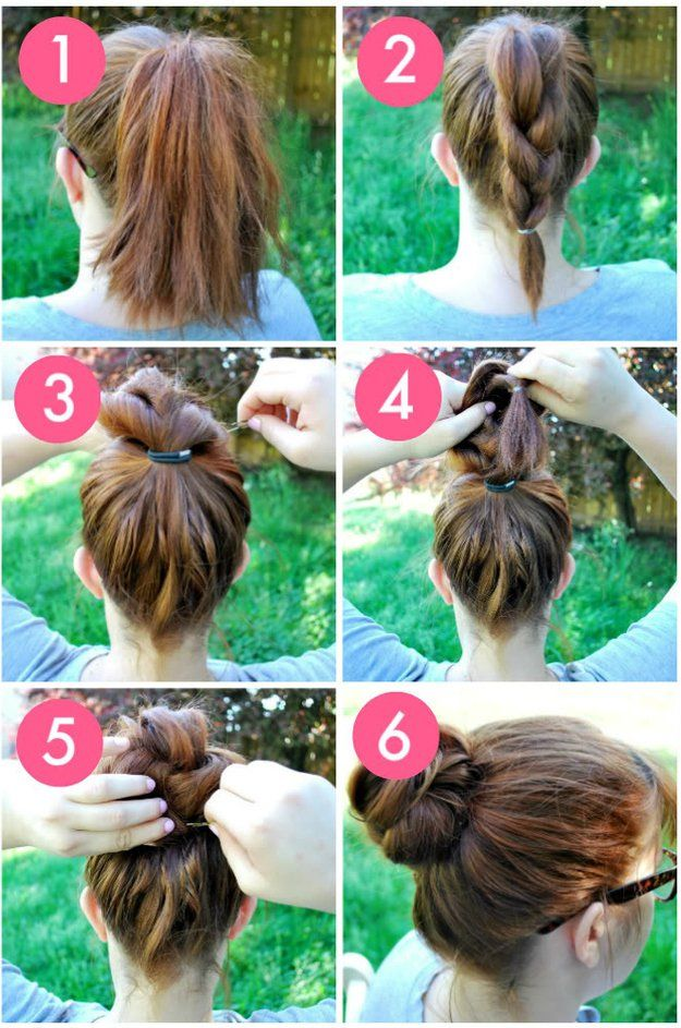 37 Easy Hairstyles For Work The Goddess Hair Styles Hair Bun Tutorial Hair Hacks