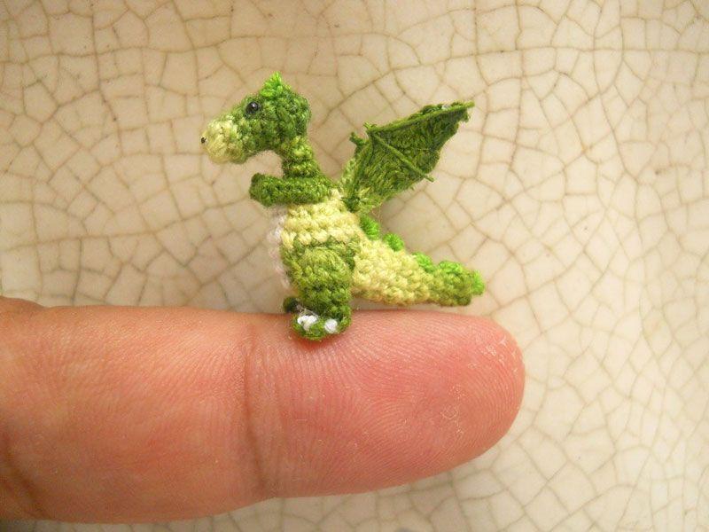 miniature crochet animals by su ami (20) | Knitting and Crochet ...