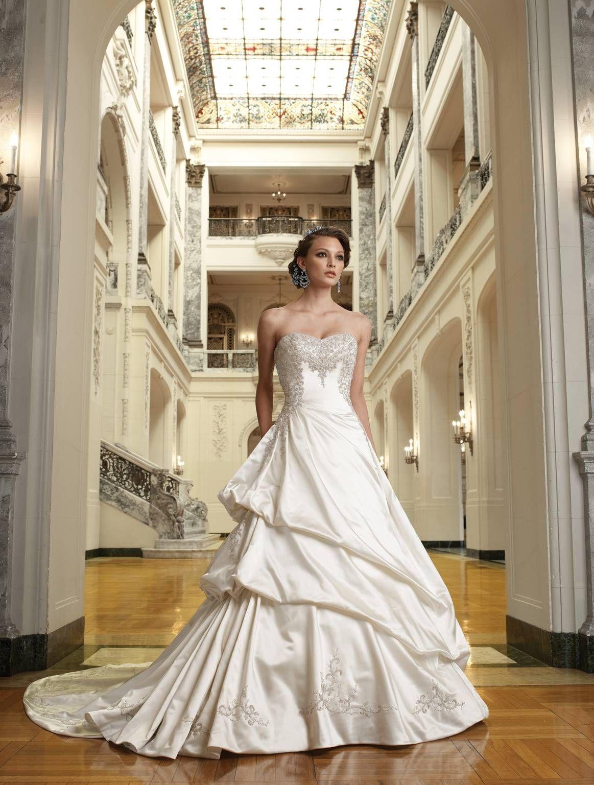 I absolutely love this wedding dress my closet pinterest