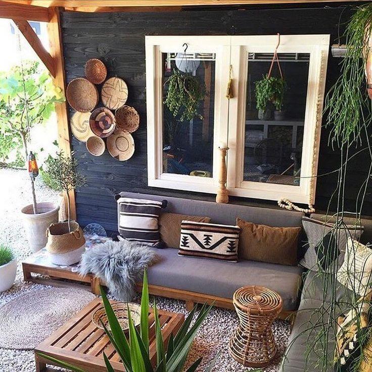 pin on bohemian outdoor decor inspiration