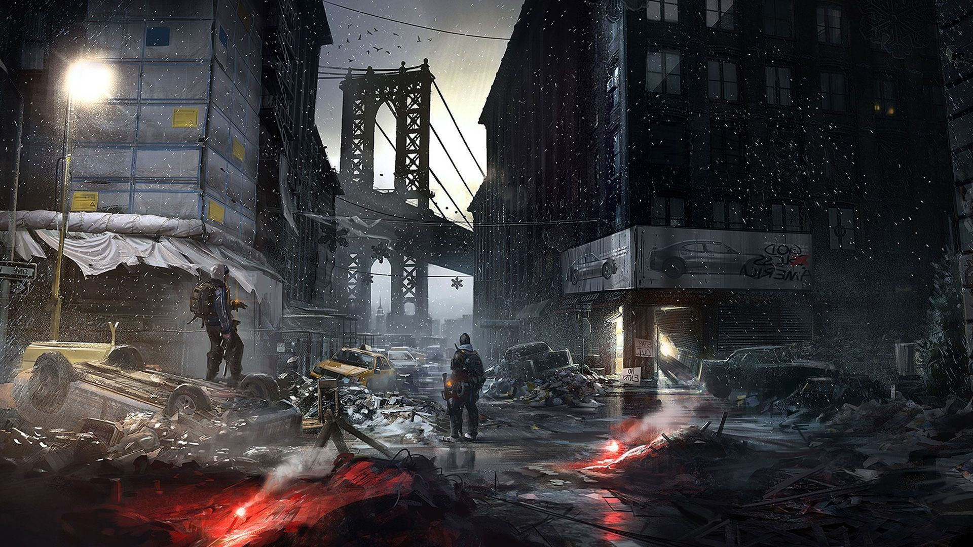 The Division Wallpaper Division Games Tom Clancy The