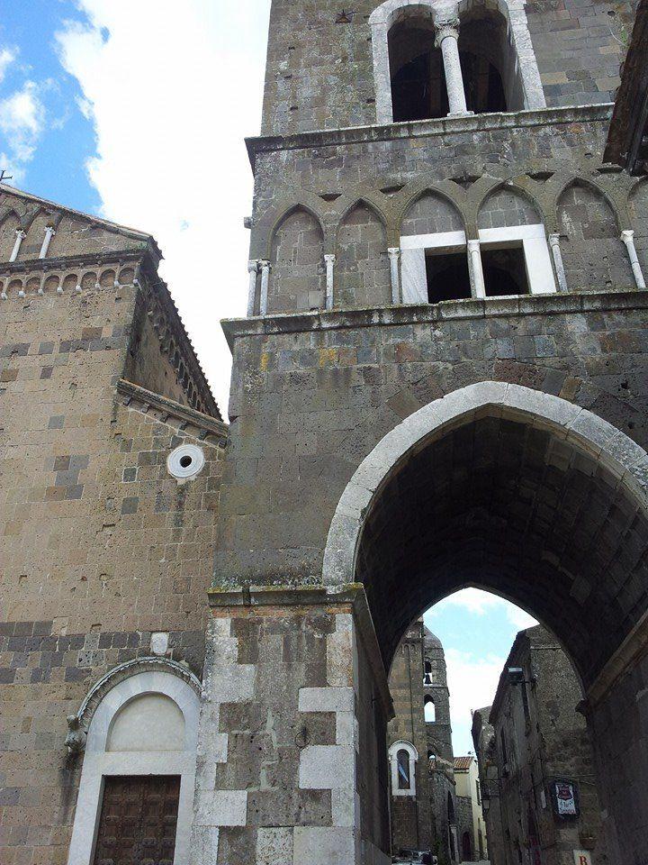 campanile prospetto frontale