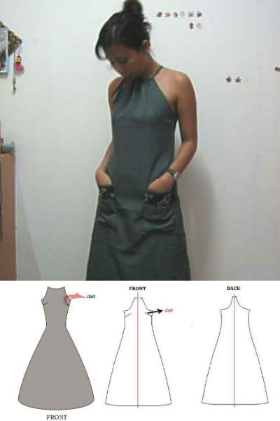 9 Easy Party Dress Patterns -   25 diy dress party ideas