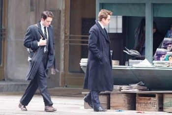 "New pictures of Rob on the set of ""Life"" on March 8, 2014 (24)"