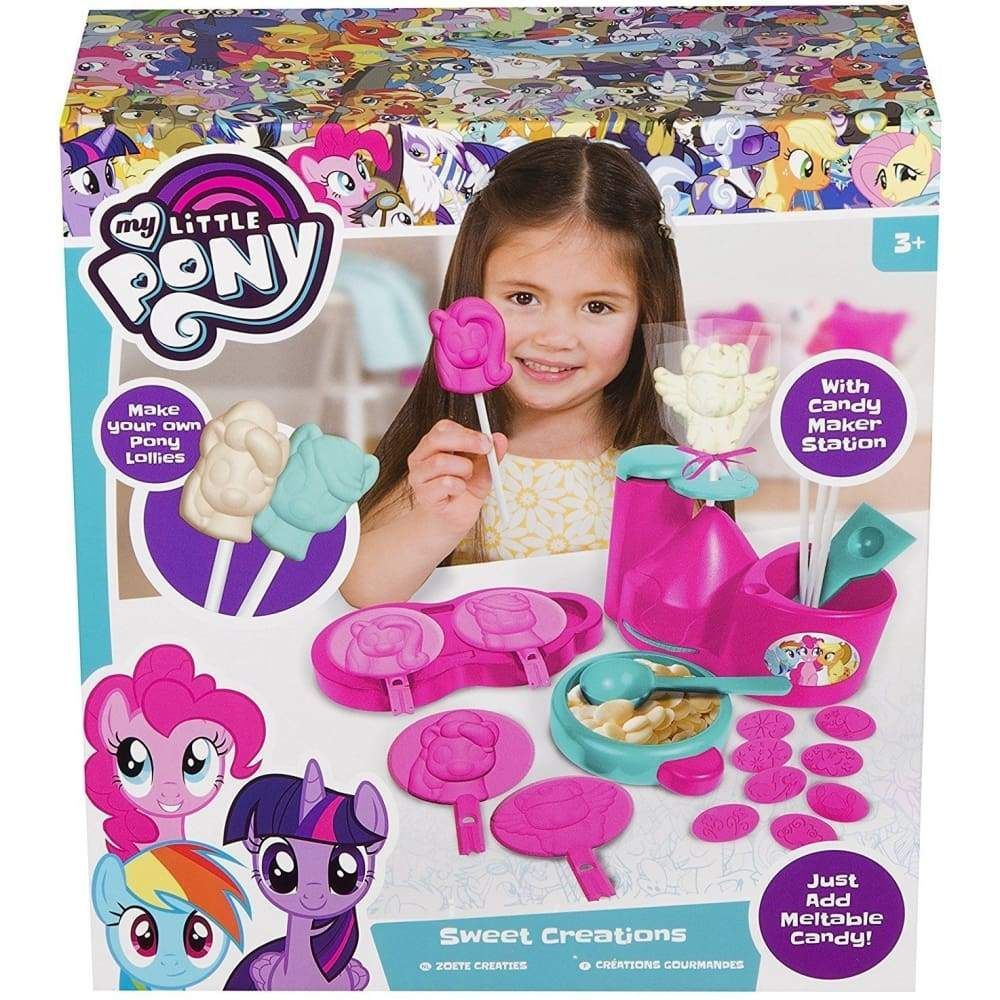 My Little Pony Chocolate Toys Chocolate Lolly Lollypop Maker
