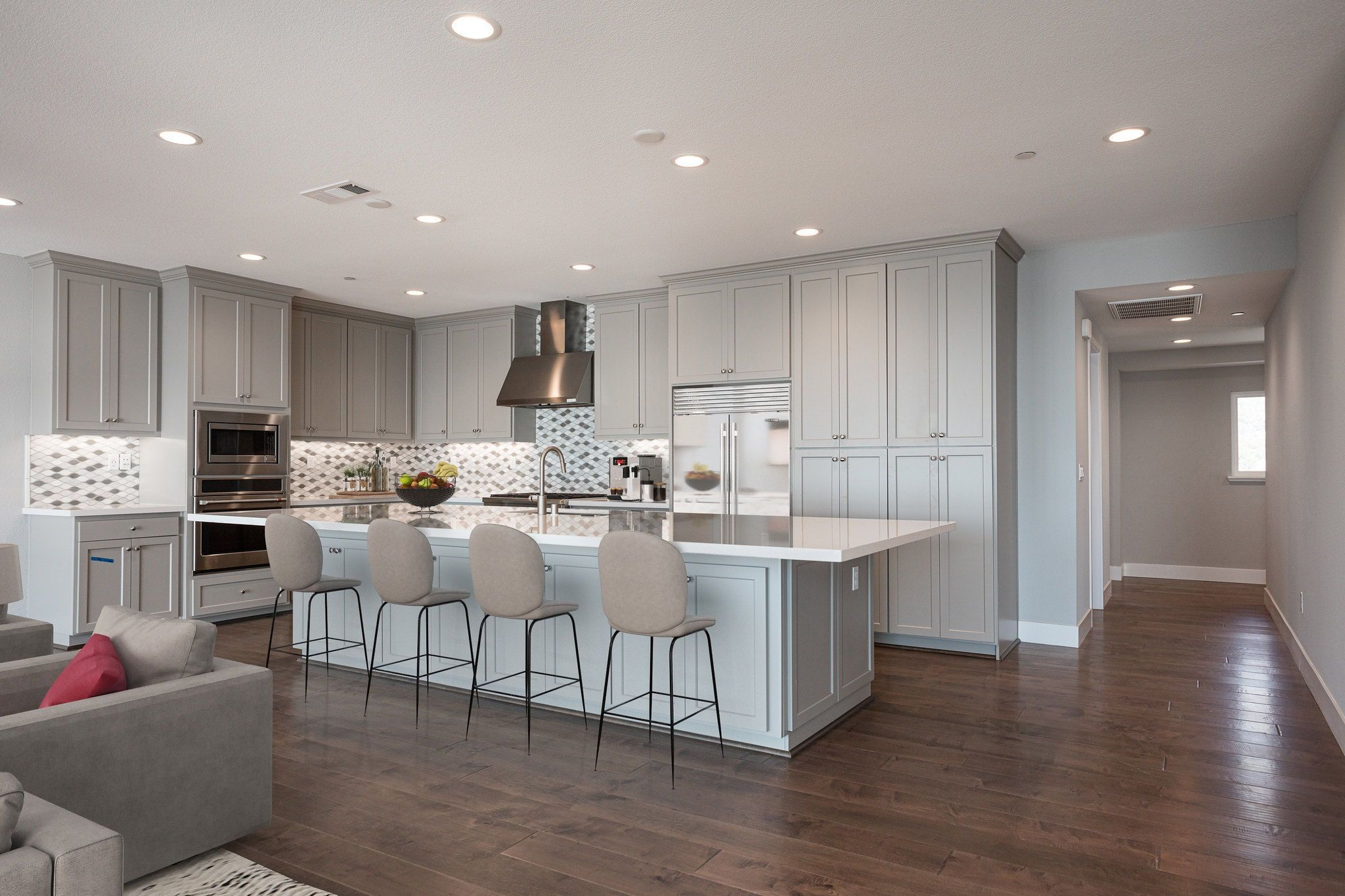 Waterline in Point Richmond, CA by Shea Homes | Residence 4 Kitchen #SheaHomes #SheaHomesNorCal #SheaHomeowners #SheaNorCal #LiveTheSheaDifference #NorCalHomes #NorCalRealEstate #BayAreaRealEstate #BayAreaNewHomes #HomeDesignInspiration #HomeInspiration #Waterline #PointRichmond Sales: Shea Homes Marketing Company (CalDRE #01378646); Construction: Shea Homes Limited Partnership (CSLB #855368). Equal Housing Opportunity.