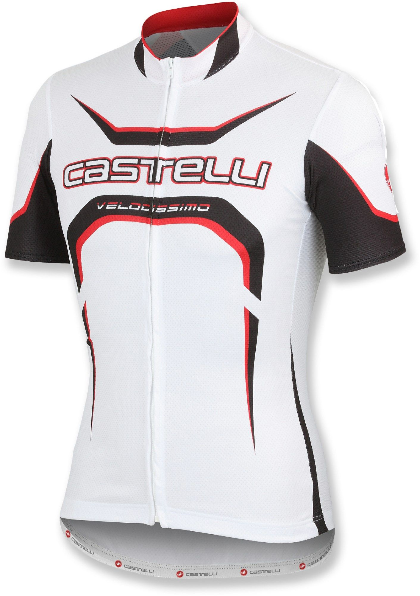 Castelli Male Velocissimo Tour Full-Zip Bike Jersey - Men s ... 6da4983a9