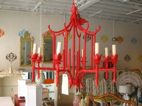 Love love love this red painted pagoda chandelier love it www love love love this red painted pagoda chandelier love it facebook mozeypictures Image collections