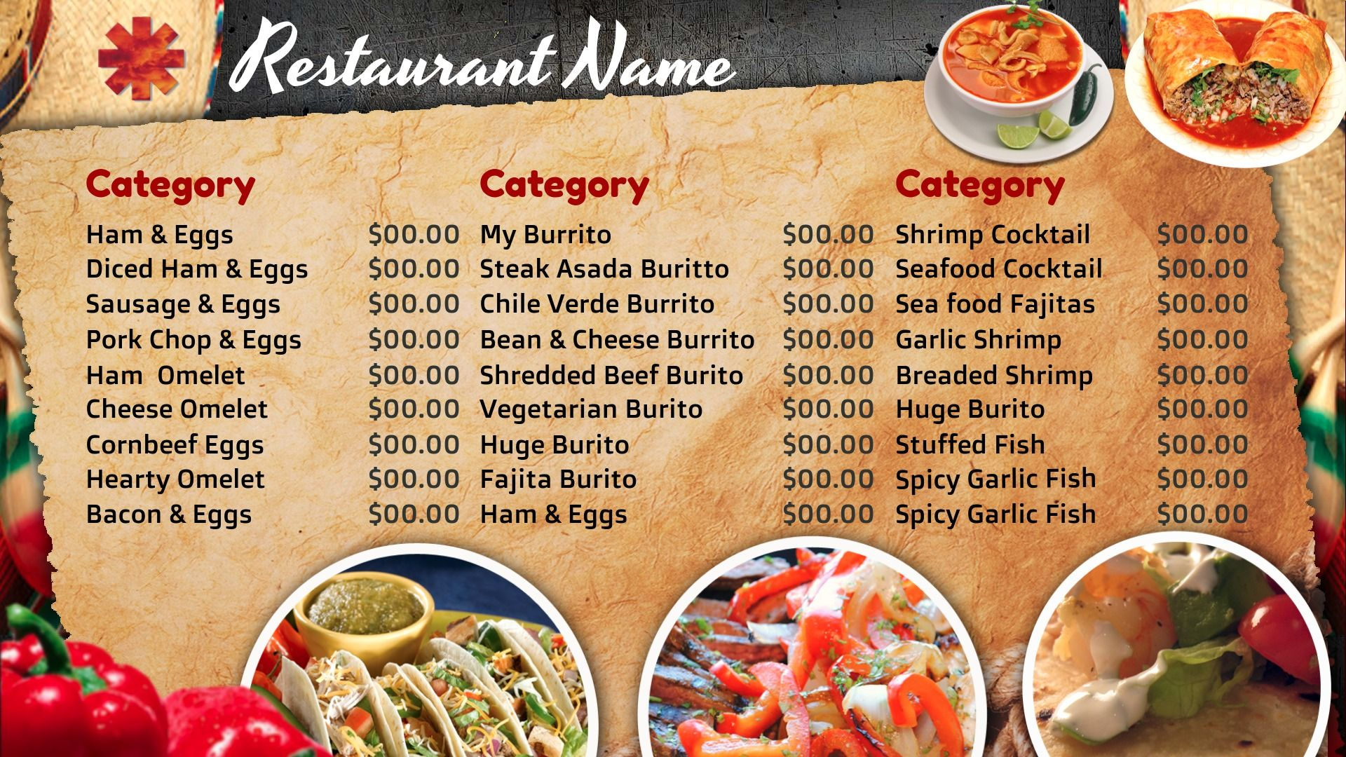 image result for mexican restaurant digital menus | chavez board