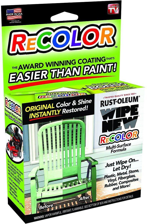 Wipe New Rust Oleum R6pcrtlkit Recolor Paint Restorer With Wipe On