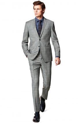 Szary Garnitur Bronx Vistula Red Vb6493 Mens Suits Fashion Suits