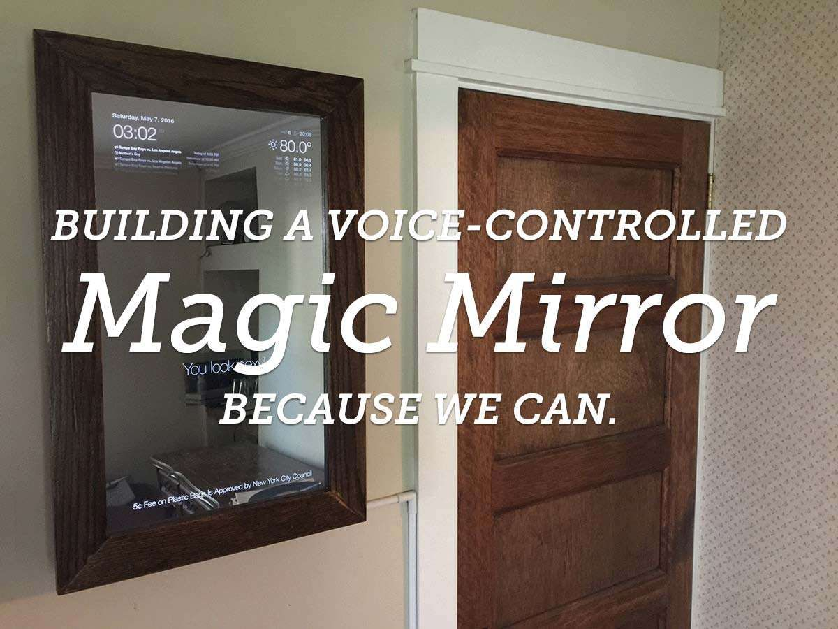 build a voice controlled diy raspberry pi smart mirror with jasper