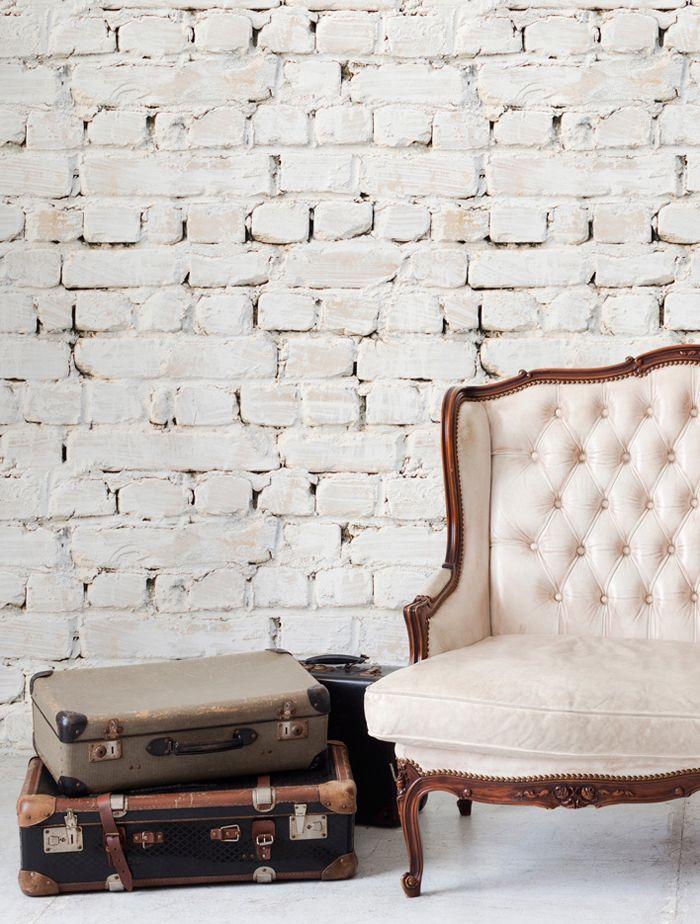 Wallpaper · fauxbrick faux texture
