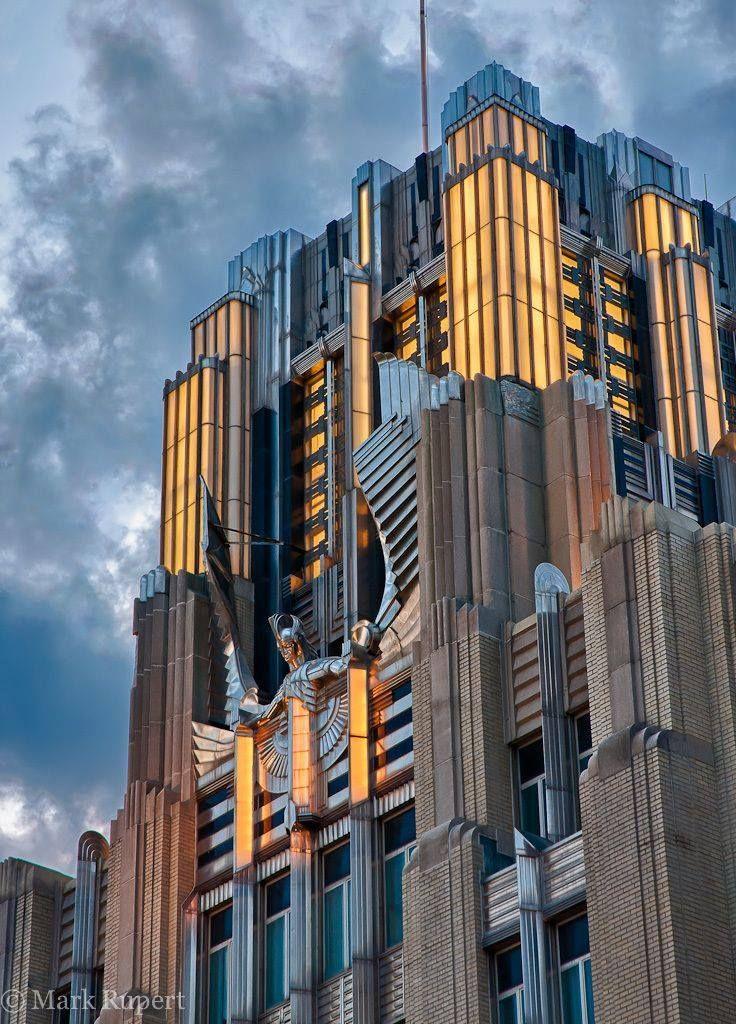 Niagara Mohawk Building, Syracuse, NY | Art deco ...