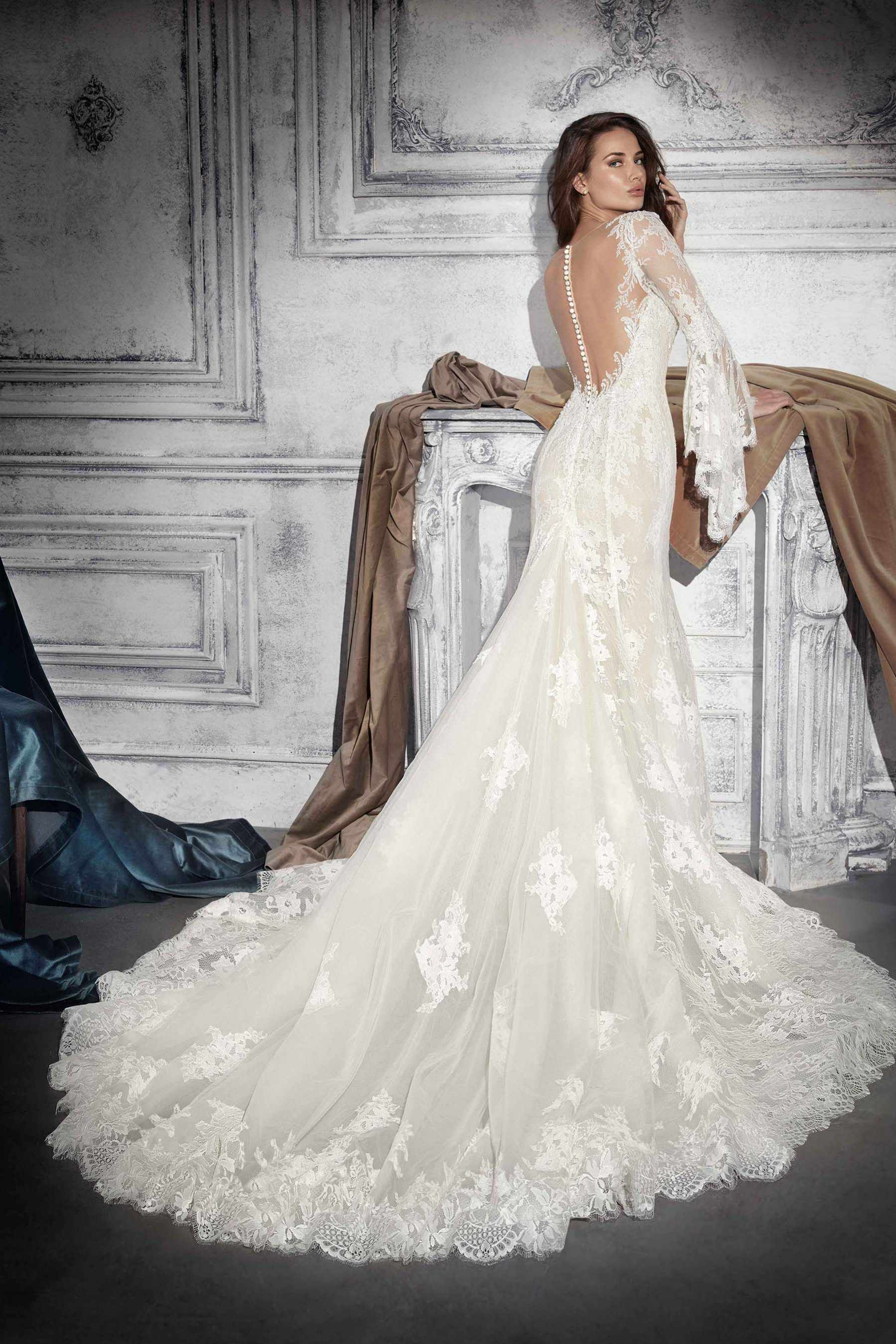 Demetrios wedding dress style back weddings pinterest