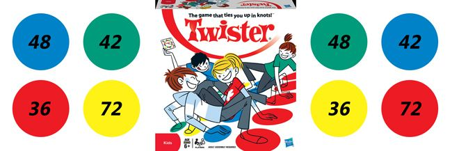 Math Twister: A New Twist on an Old Game