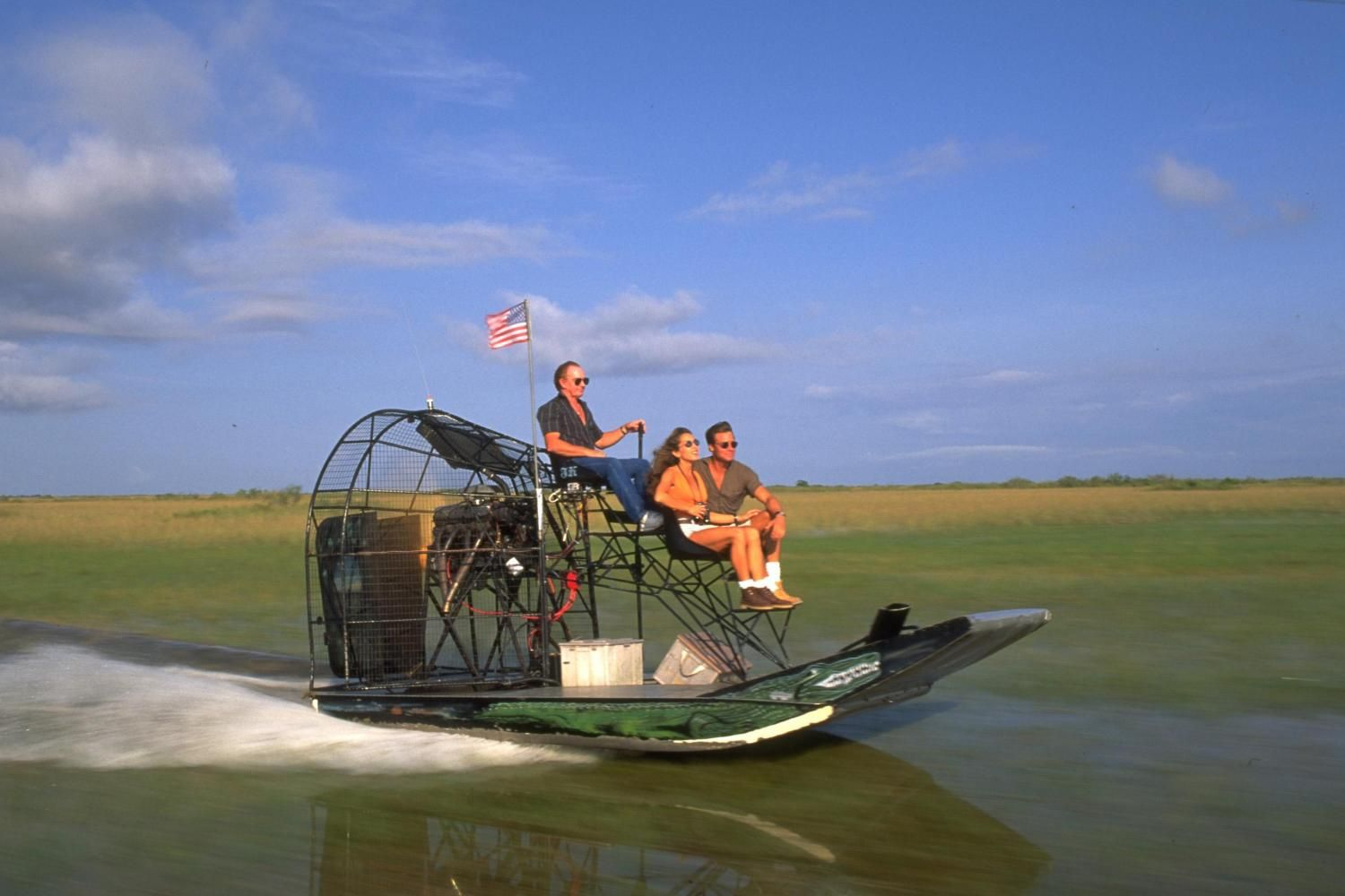 Air boat rides in the everglades Everglades airboat