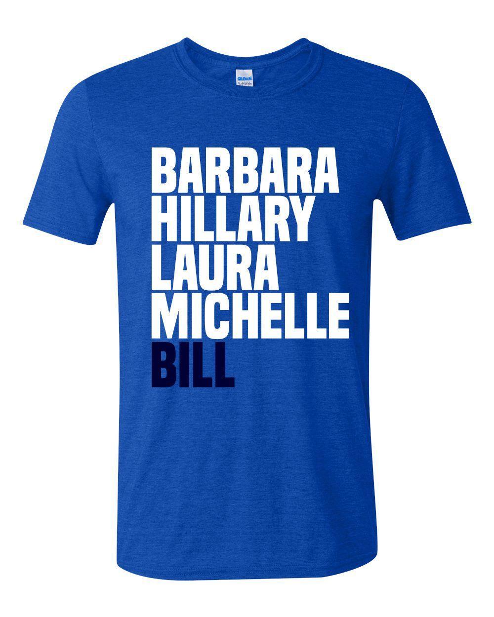 Bill Clinton First Husband T-shirt