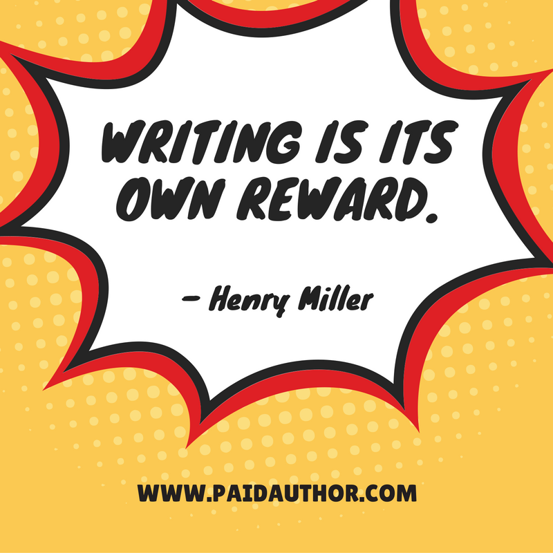 Author Quotes about Writing