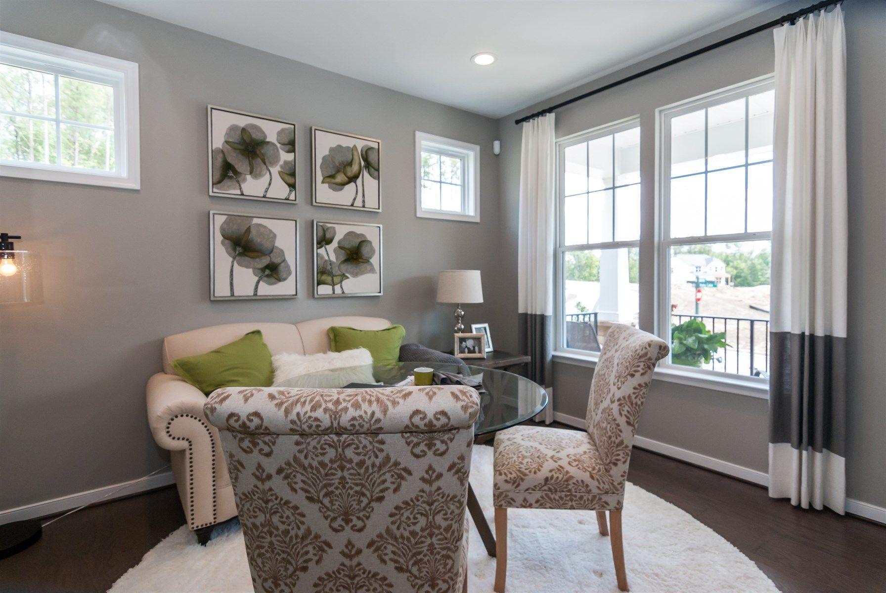 Living Room Furniture Richmond Va The Morgan Floor Plan At Magnolia Green In Richmond Virginia