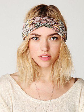 DIY Turban (No Tie) Headband  931fc30a096